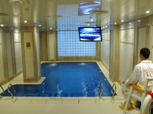 Indoor temperature-controlled Swimming Pool