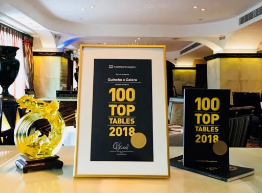 "SCMP Hong Kong has announced the ""100 Top Tables 2018"" with 20 winners from Macau and Guincho a Galera stands as the only winner in Portuguese cuisine"